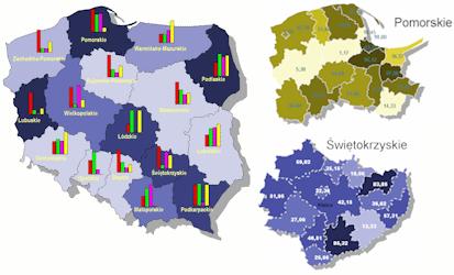 Wizualizacja danych wadministracji publicznej
