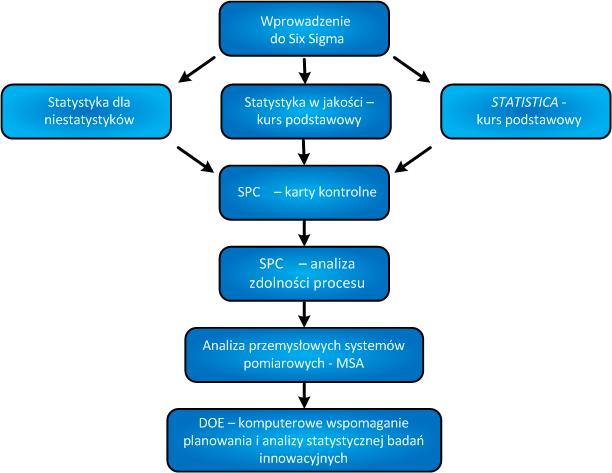Six Sigma szkolenia