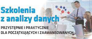 Szkolenia z analizy danych